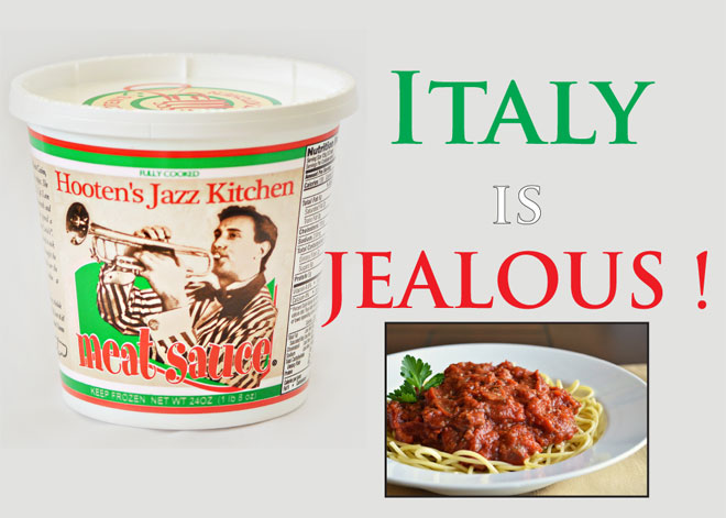 David b hooten 39 s jazz kitchen meat sauce for Daves italian kitchen